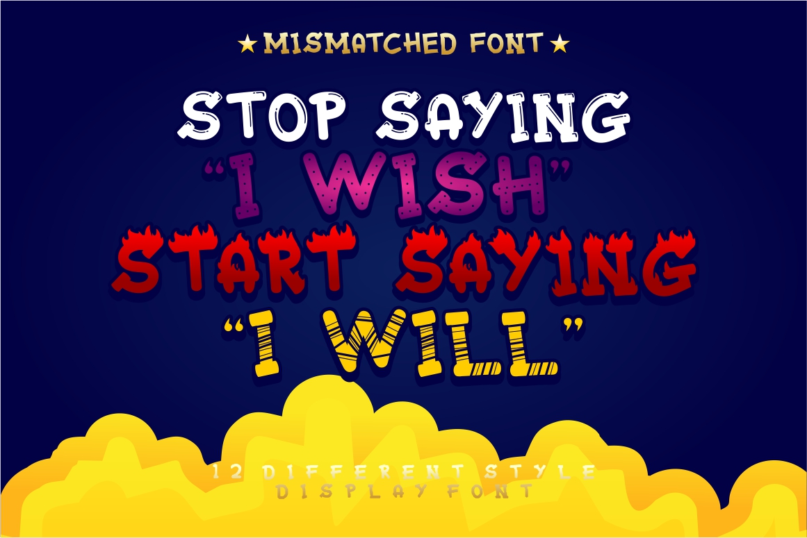 Mixy Missy - 12 Style Display Font example image 16