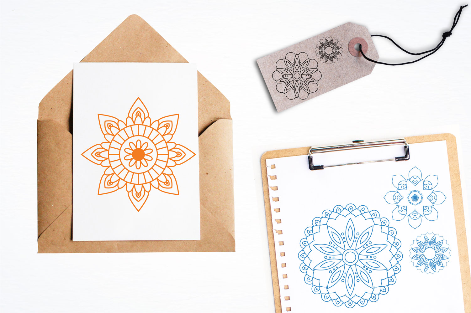 Beautiful Mandala Cute Graphics example image 4