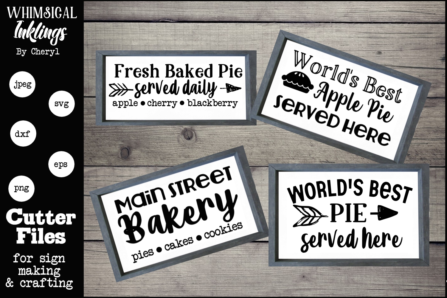 The Bakery Collection SVG Set example image 1