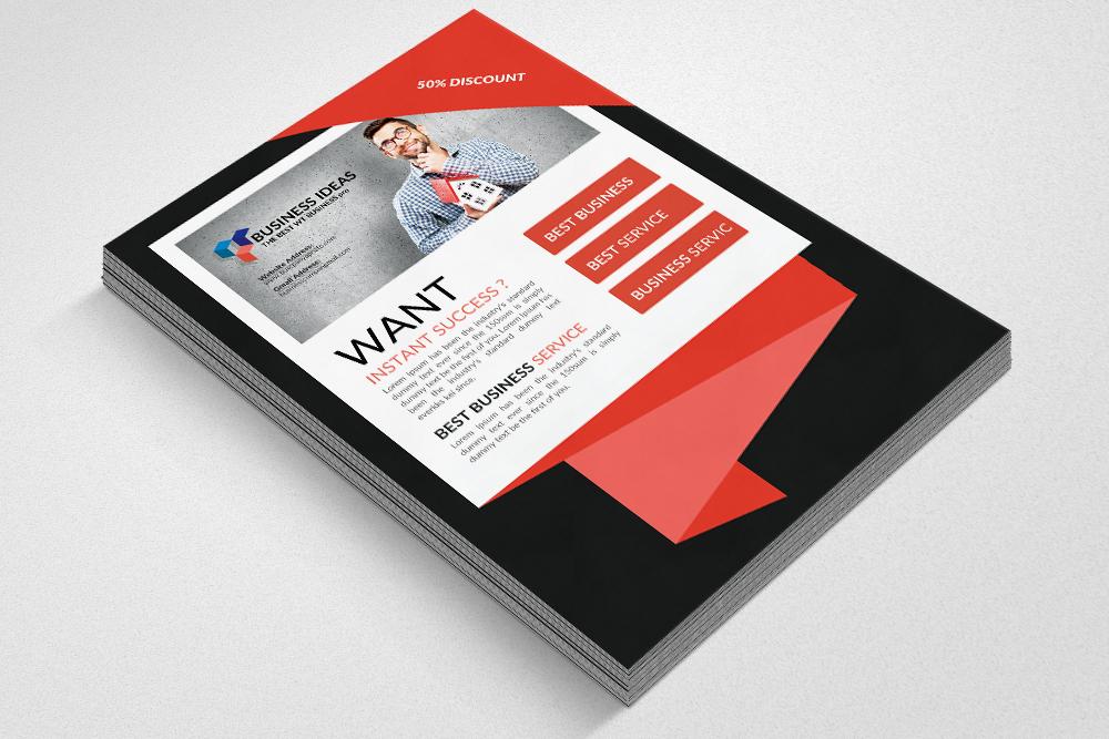 Website Designer Flyer Templates example image 3