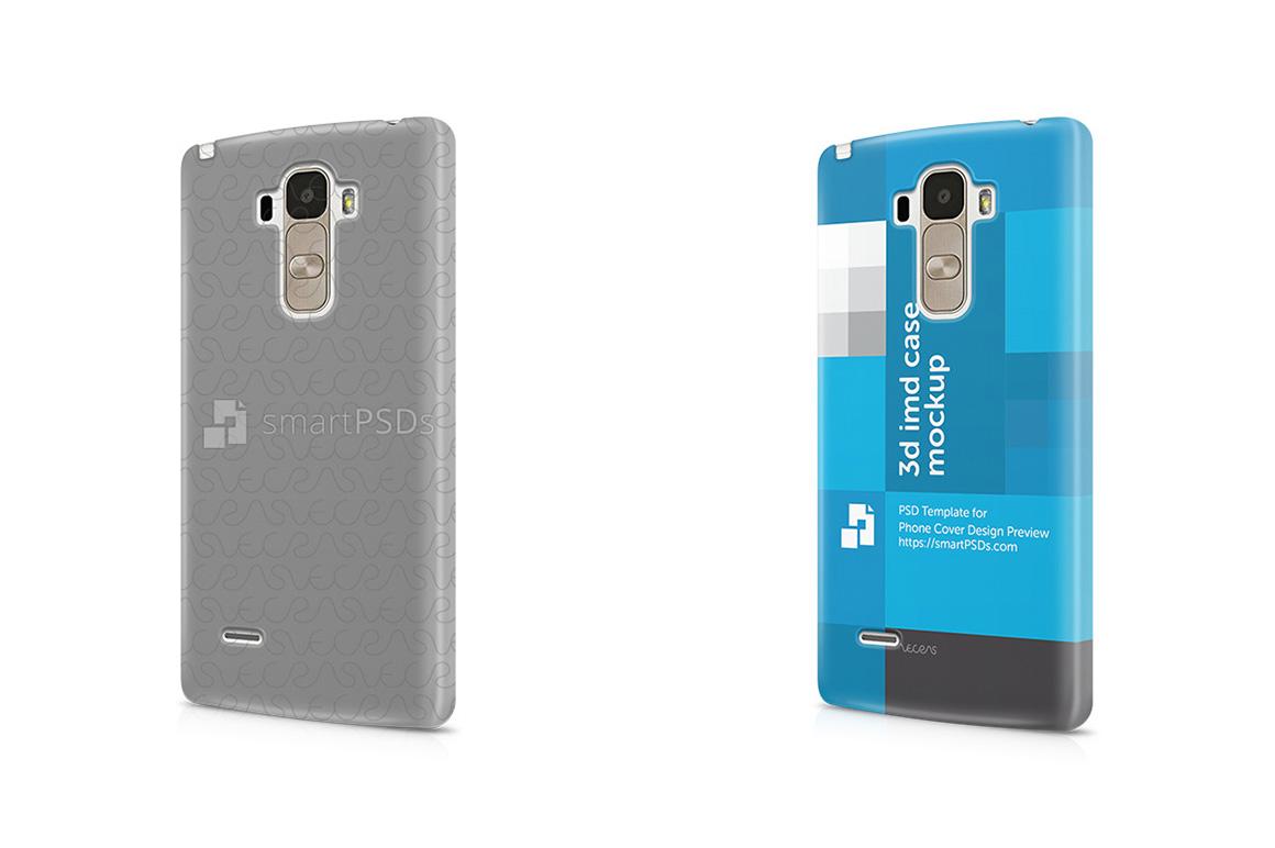 LG G4 Stylus 3d IMD Mobile Case Design Mockup 2016 example image 1