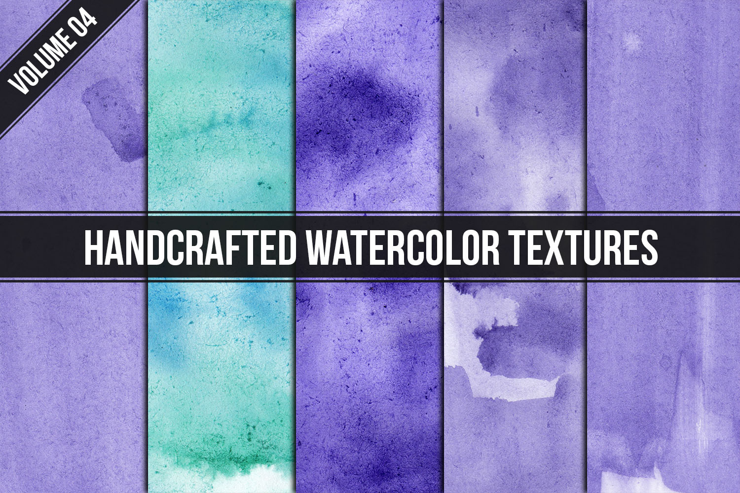 Handcrafted Watercolor Textures Vol. 04 example image 1