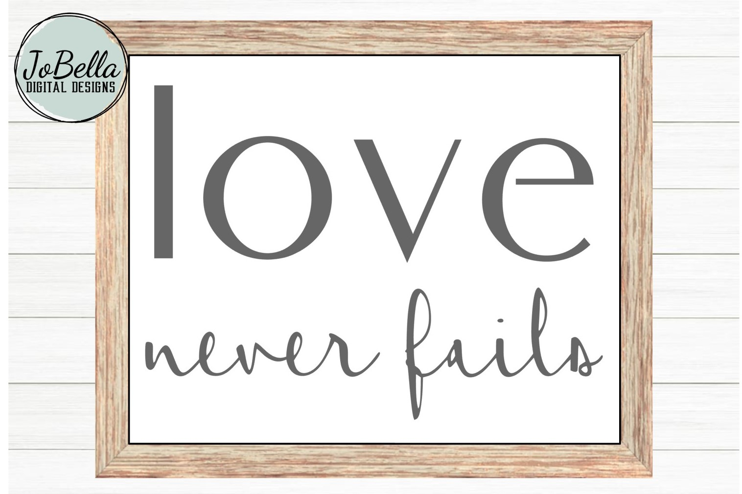 Corinthians Love Never Fails SVG, Sublimation and Printable example image 1