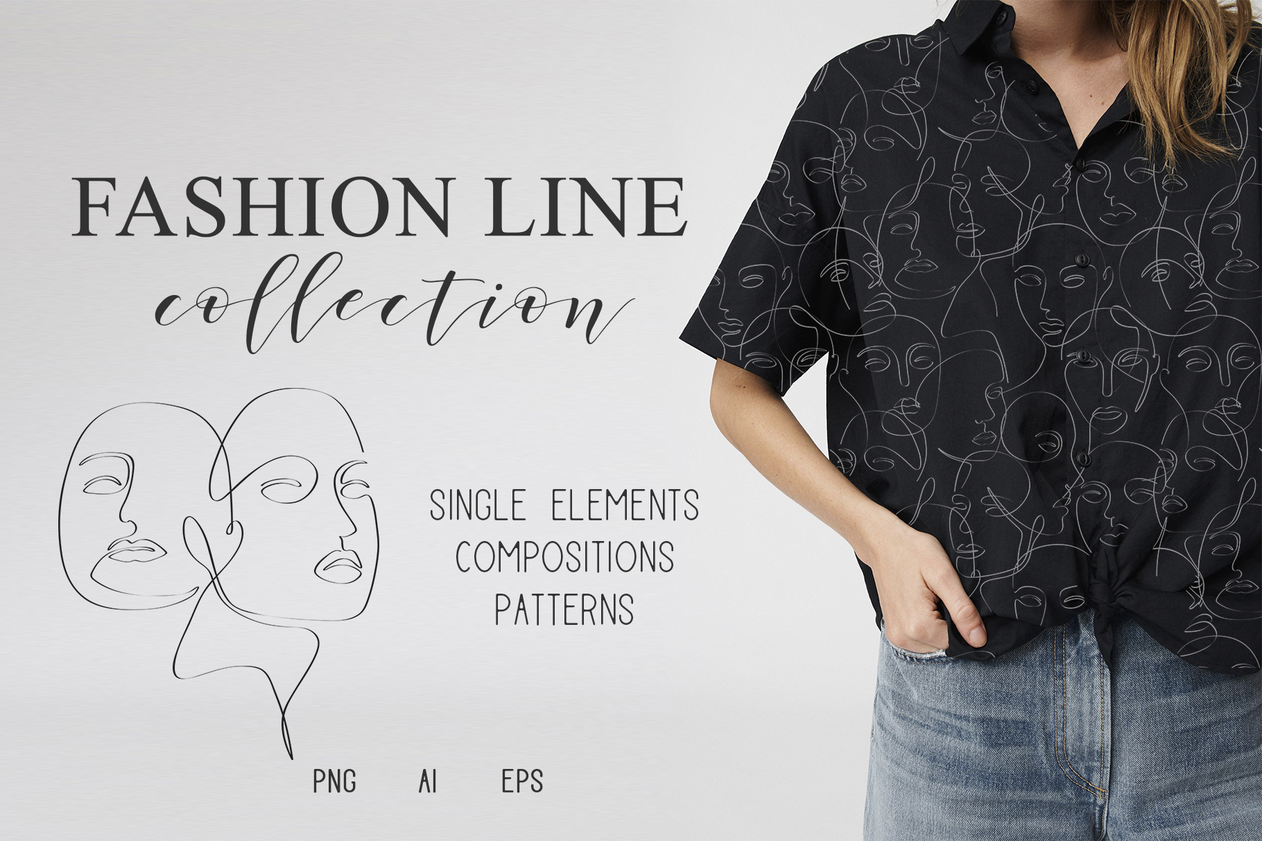 Fashion line collection example image 1