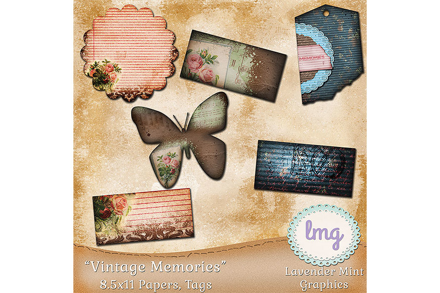 Vintage Memories Journal Kit example image 3