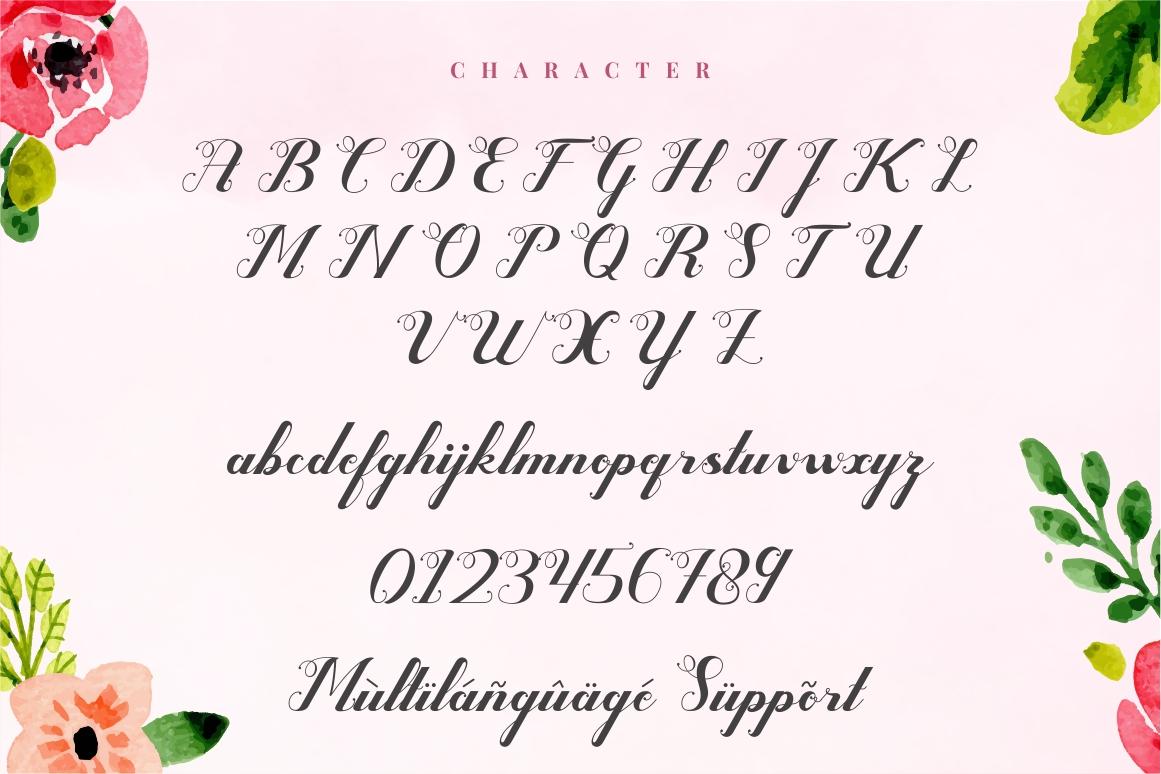 Valentijn - Romantic Font example image 8