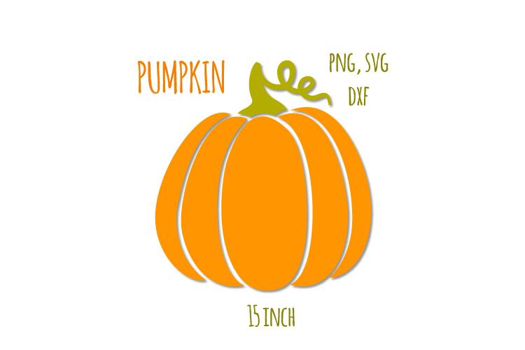 Pumpkins svg. Thanksgiving digital clipart example image 1