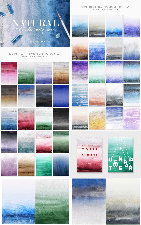 Aesthetic Backgrounds BUNDLE example image 11