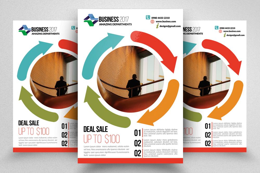 10 Business Flyer Bundle example image 4