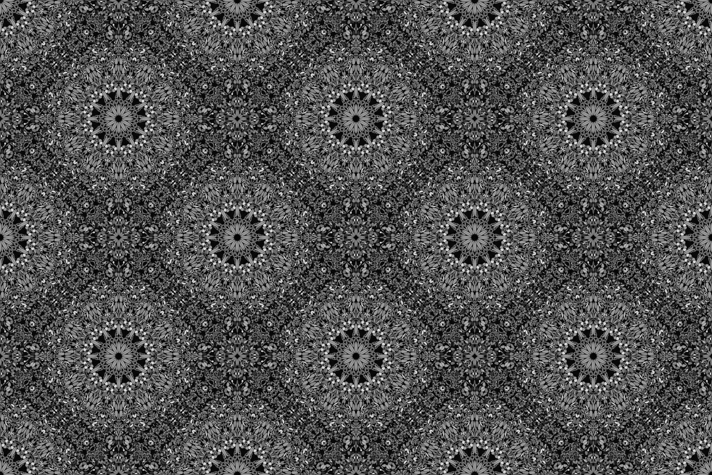 48 Seamless Floral Mandala Patterns example image 27