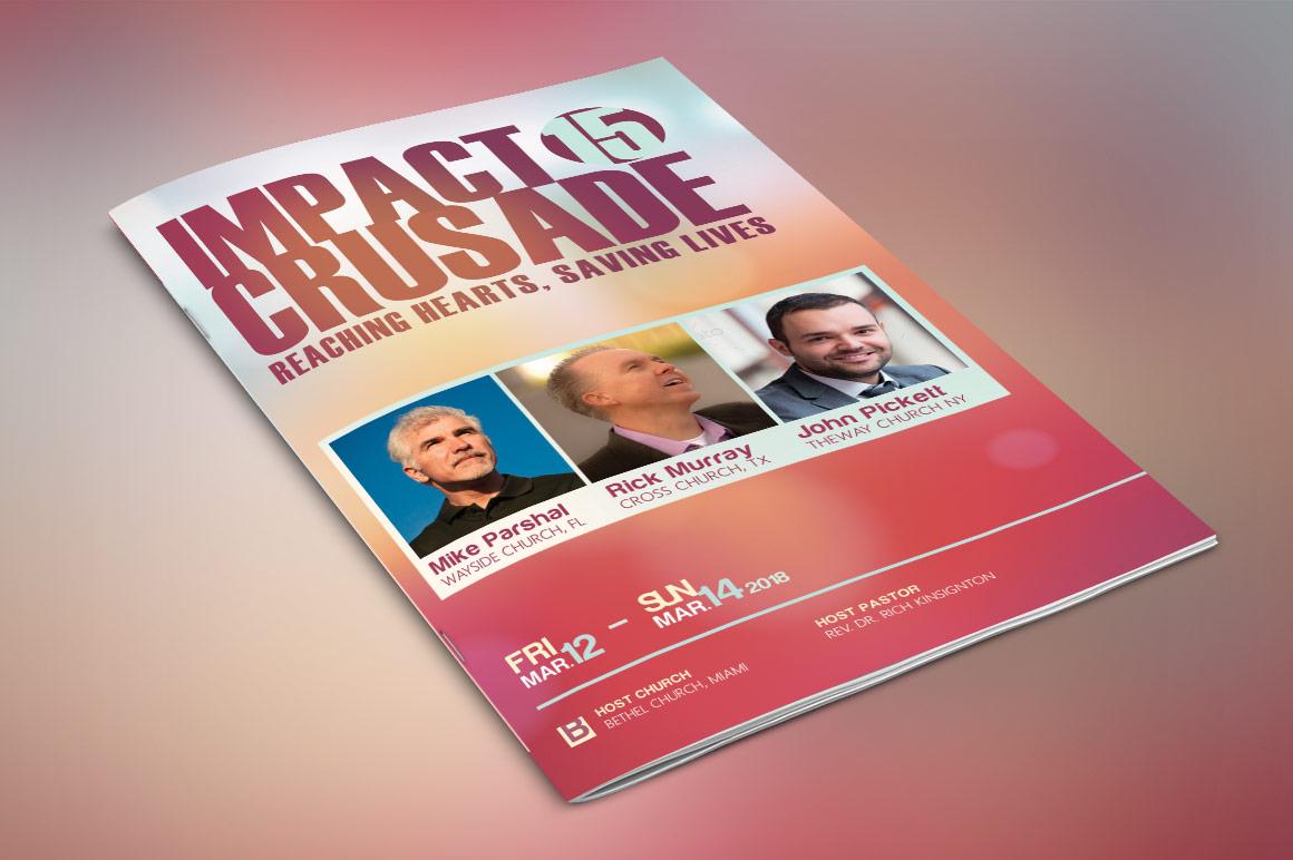 Gospel Crusade Program Template example image 2