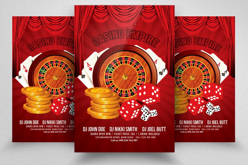 10 Casino Flyers Bundle example image 9