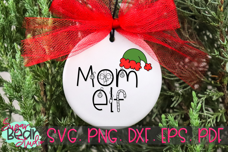 Mom Elf - A Christmas SVG example image 2