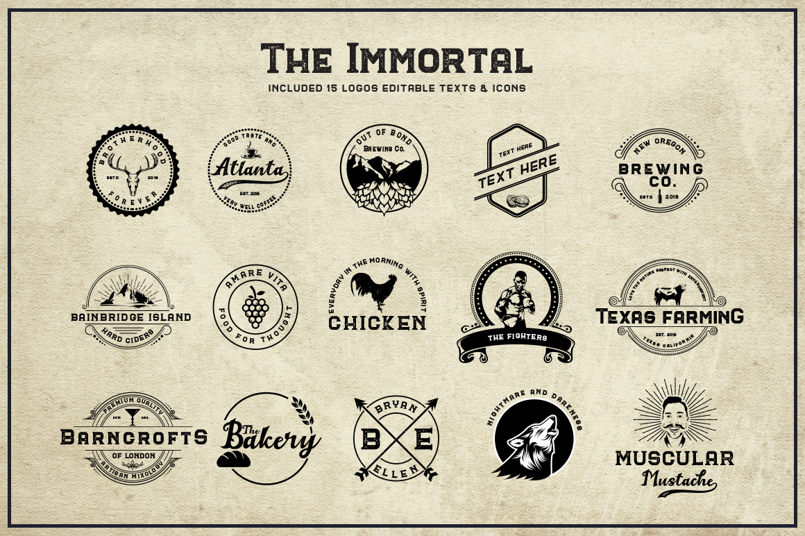 The Immortal // Vintage Collection example image 9