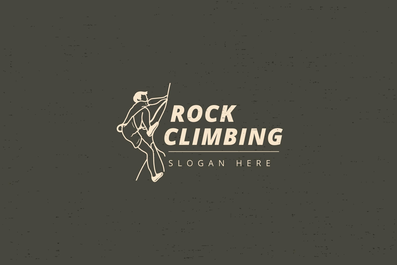 ROCK CLIMBING LOGO example image 1