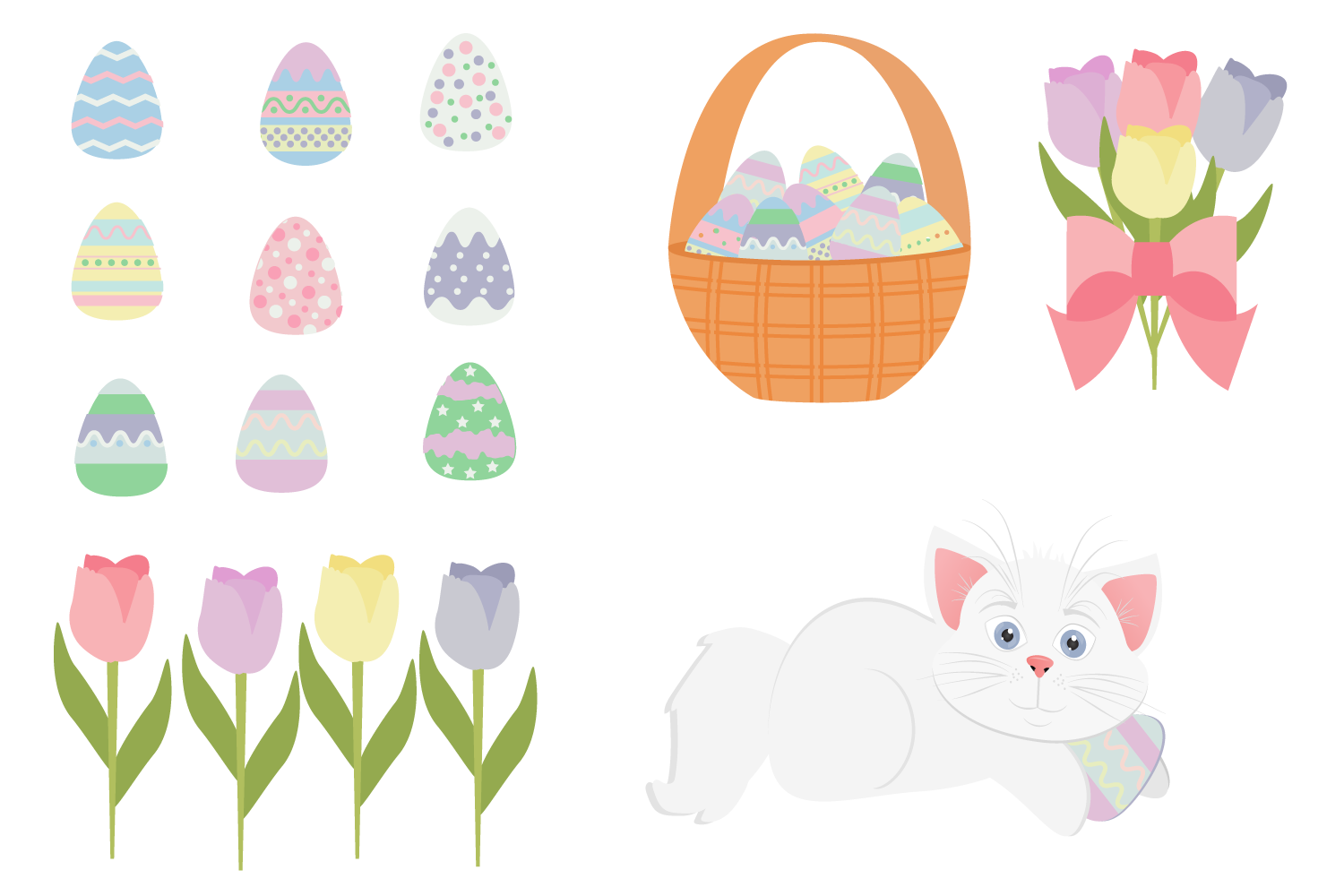 Easter Kitty example image 2