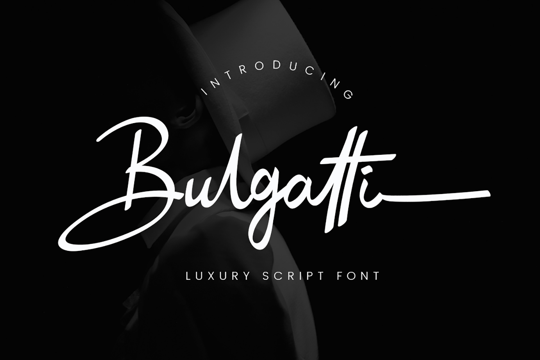 Bulgatti Luxury Script example image 1