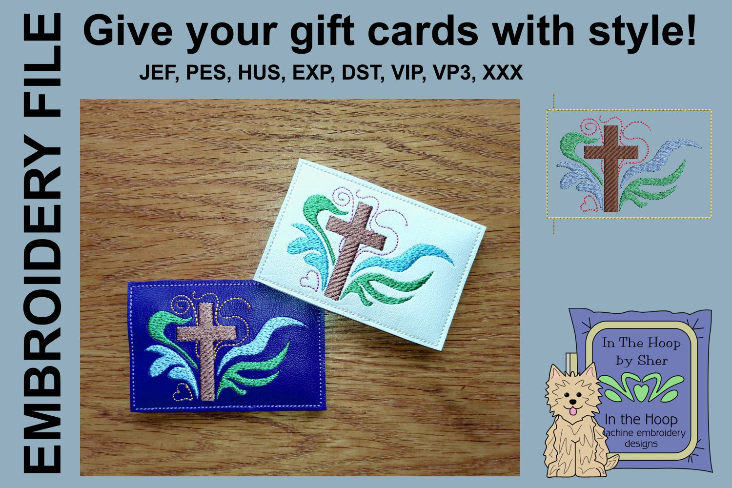 ITH Cross Gift Card Holder example image 1