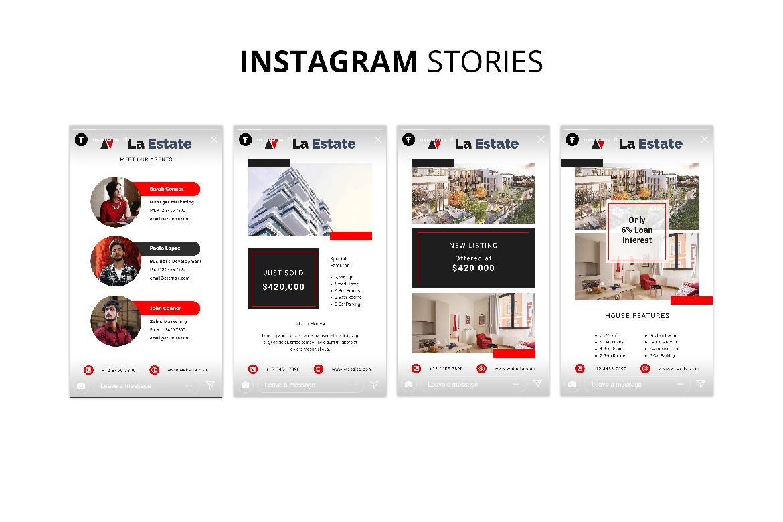 La Estate Real Estate Social Media example image 9