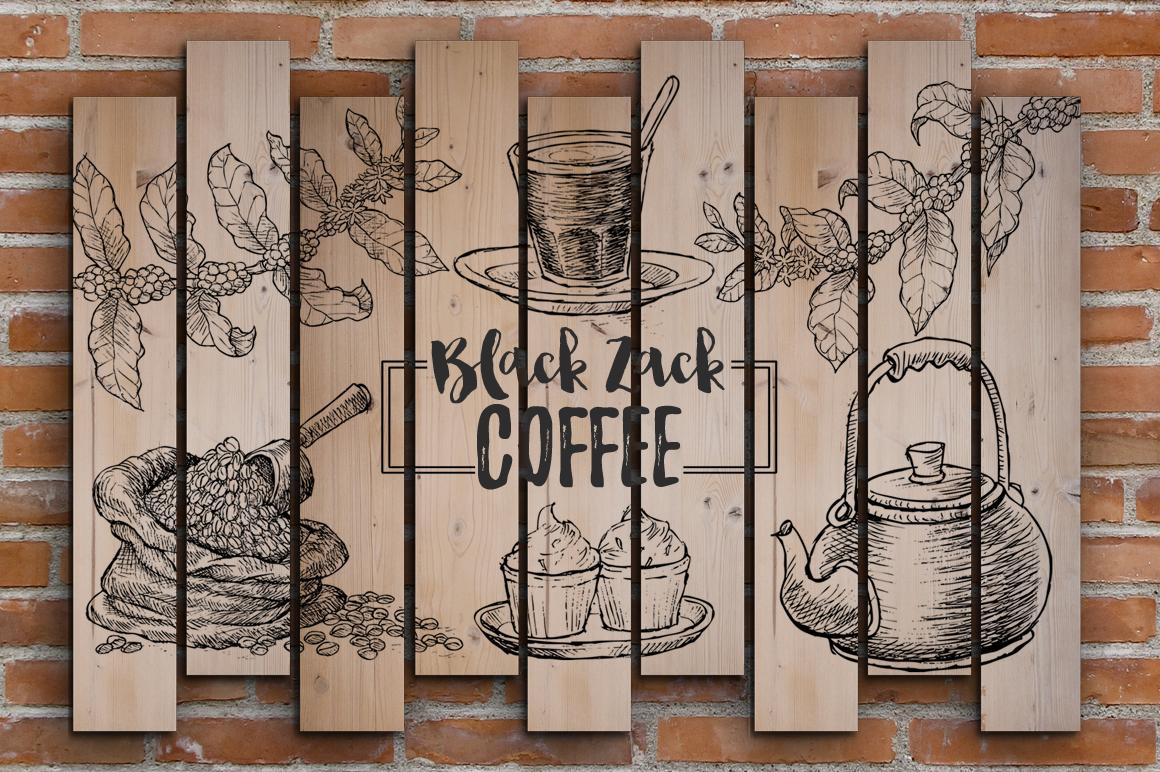Watercolor Coffee (promo 50%) example image 5