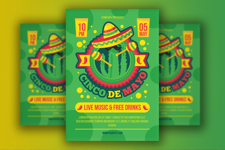 Cinco De Mayo Poster example image 1
