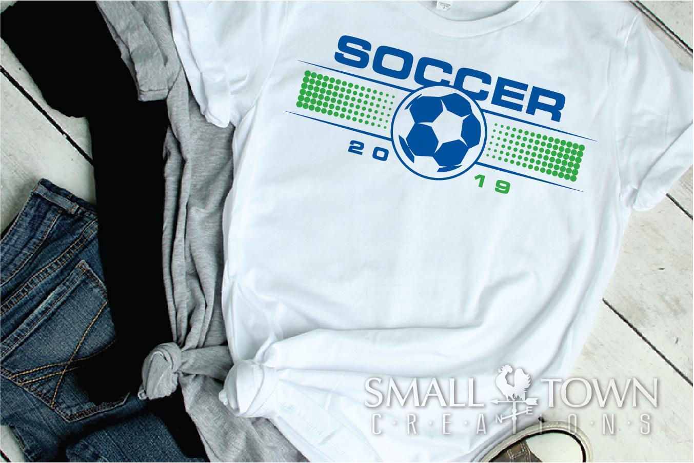 Soccer, Soccer ball, Sports team, PRINT, CUT & DESIGN example image 3