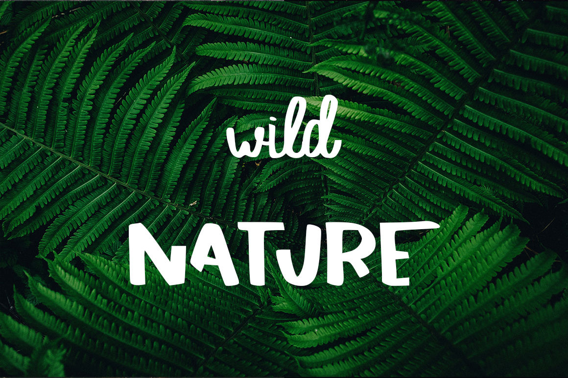SAVAGE duo script font example image 4