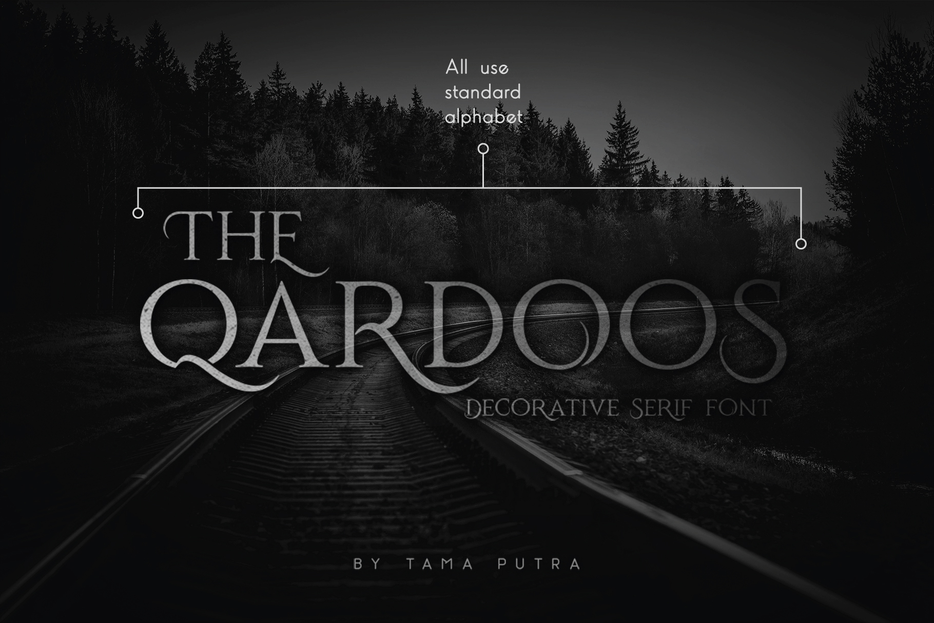 Qardoos Decorative Serif Typeface example image 1