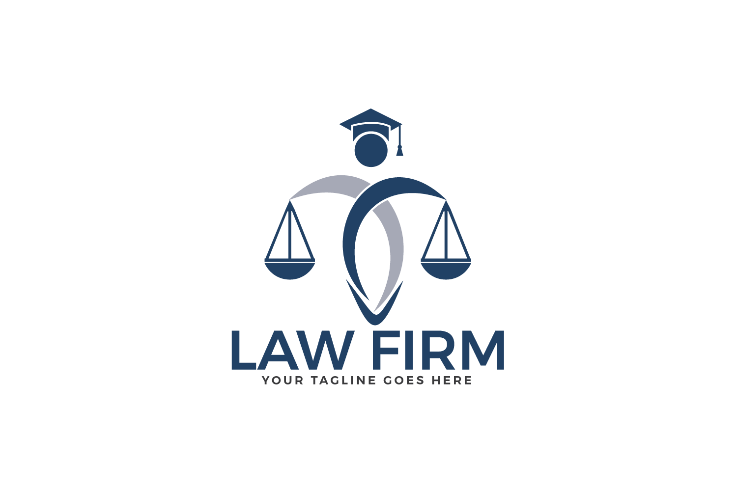 Law Firm Logo Design. example image 2