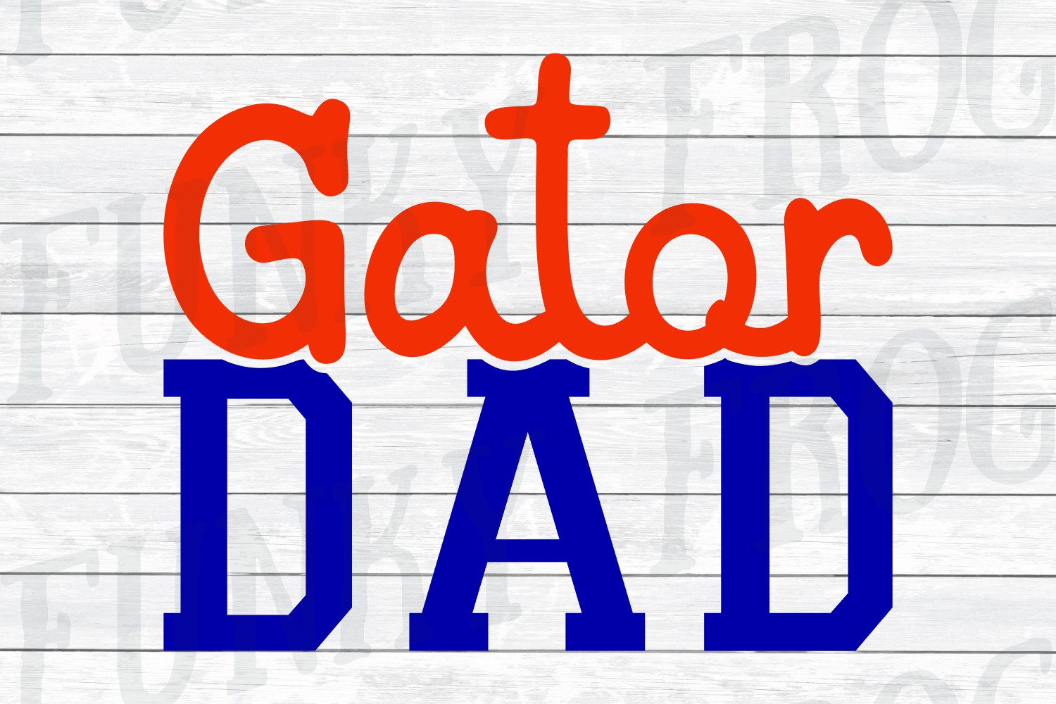 Gator Dad and Gator Mom SVG Cut File for Crafters example image 4