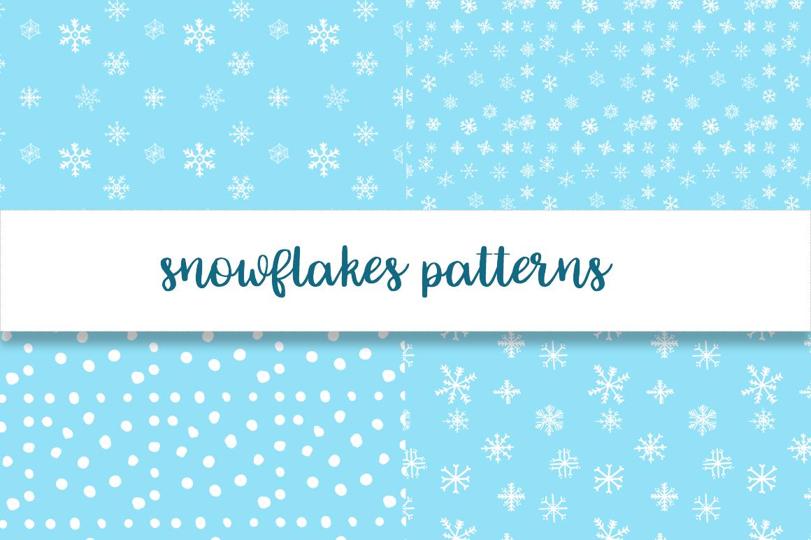 Christmas snowflakes example image 5