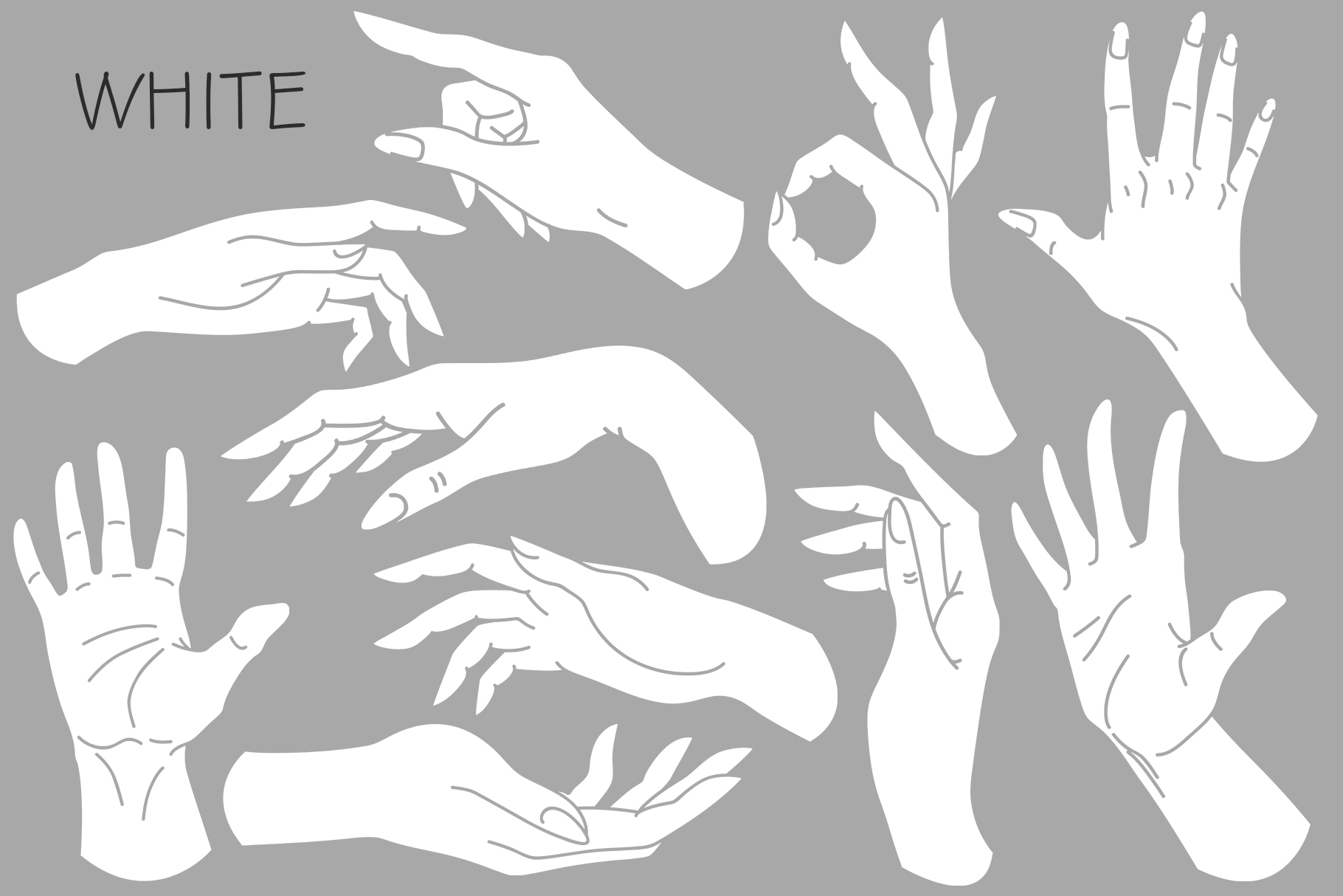 10 HANDS in simple design example image 8