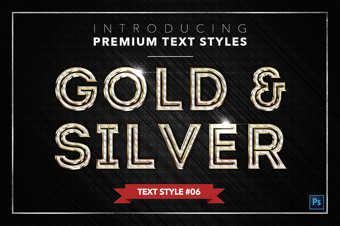 Gold & Silver #3 - 15 Text Styles example image 13