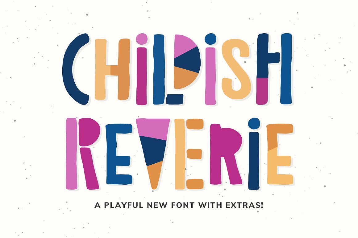 Childish Reverie Font example image 1