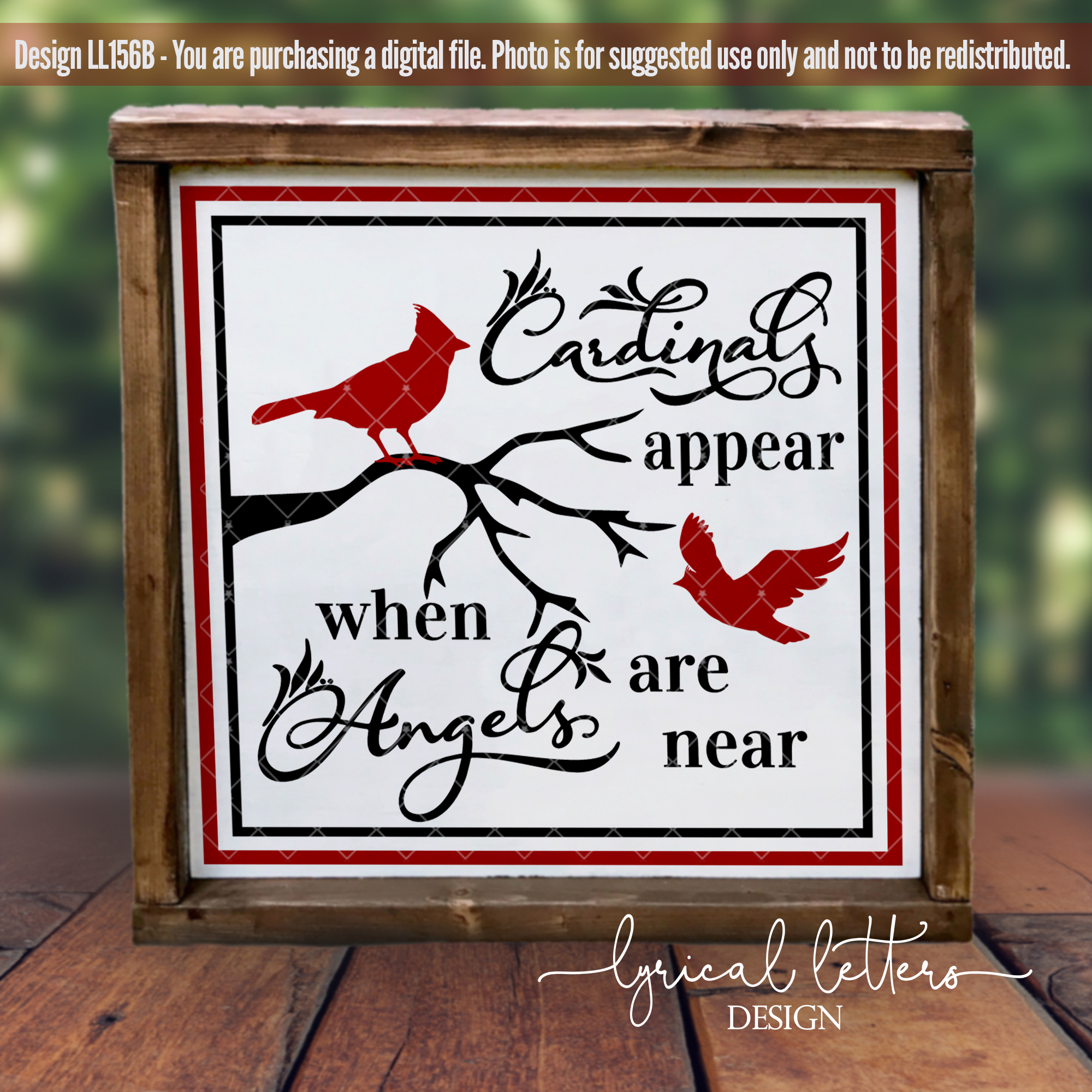 Cardinals & Christmas Bundle of 22 SVG DXF FCM Cut File example image 4