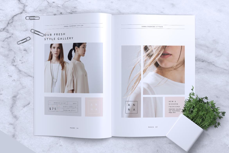 Anna Lookbook/Magazine Fashion example image 3