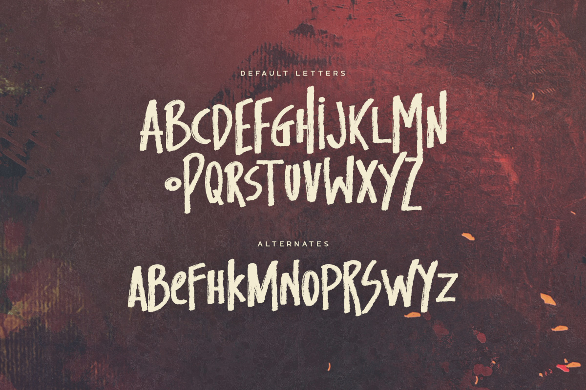 Pandemic - Brush Font example image 2