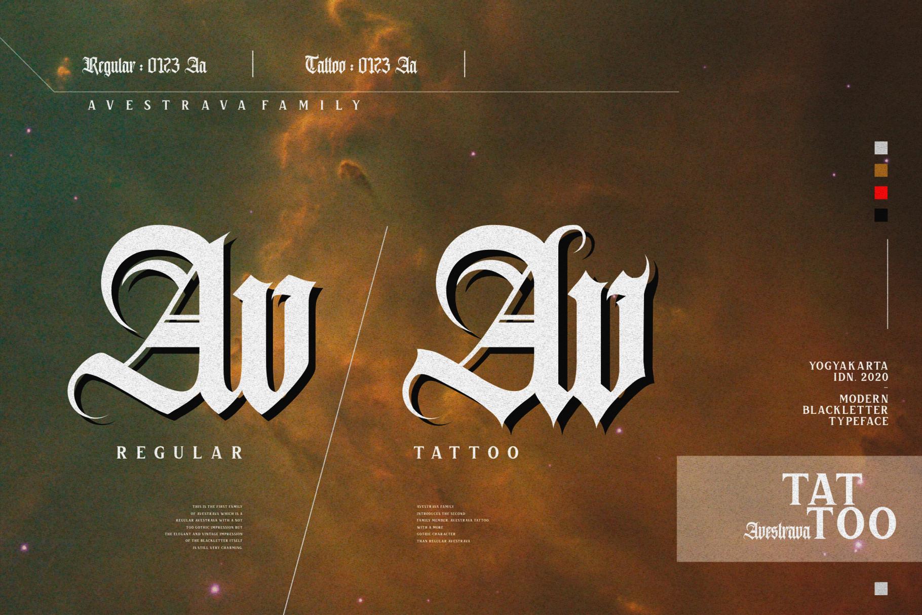 Avestrava Tattoo example image 7