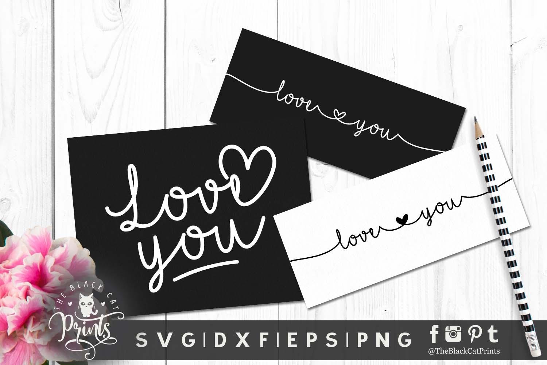 Mini Valentines bundle SVG DXF EPS PNG example image 6