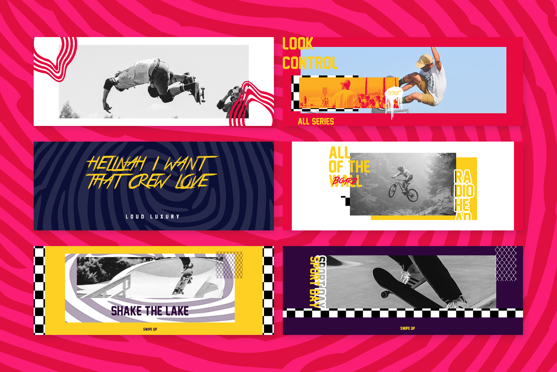 Skate Facebook Cover Templates example image 2