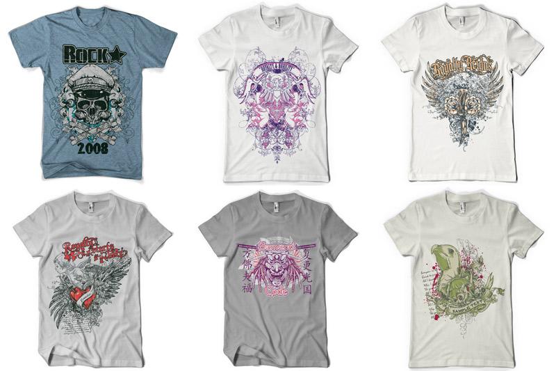 100 T-shirt Designs Vol 2 example image 13