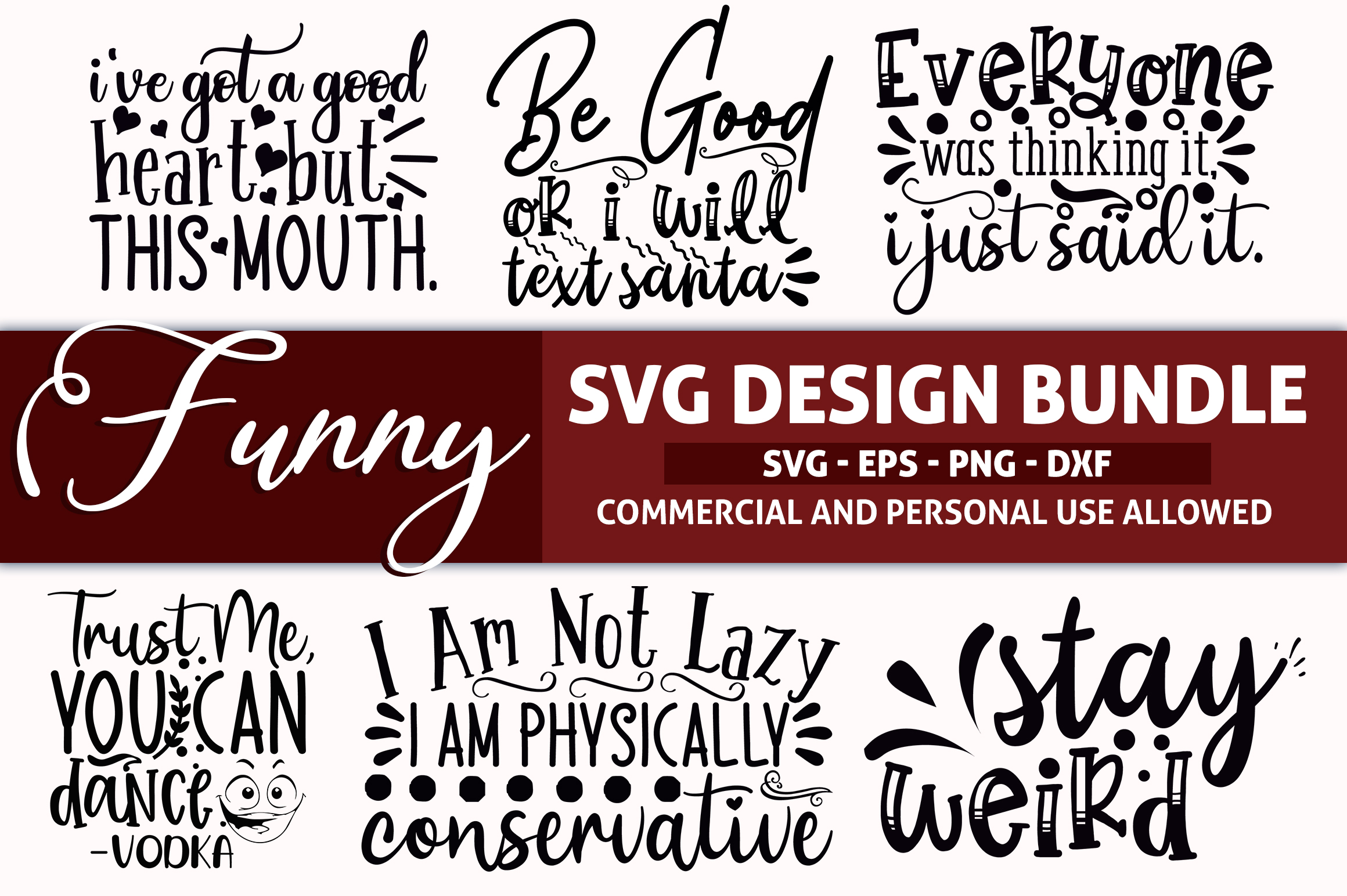 510 SVG DESIGN THE MIGHTY BUNDLE |32 DIFFERENT BUNDLES example image 23