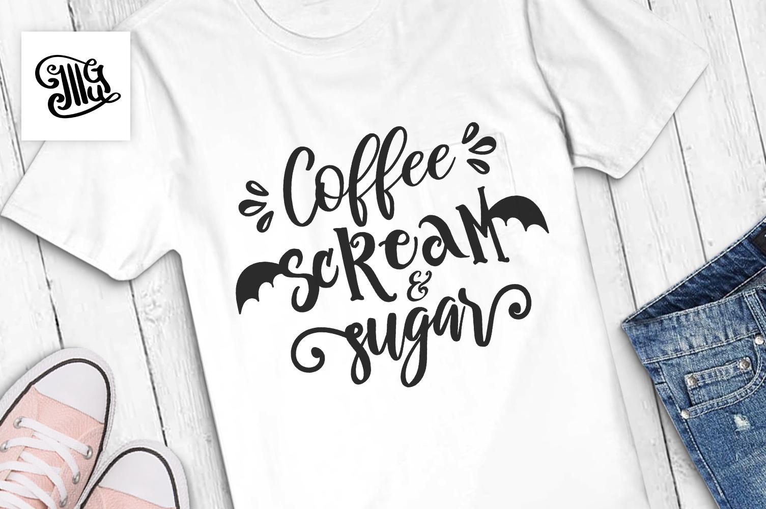 Coffee scream and sugar example image 1