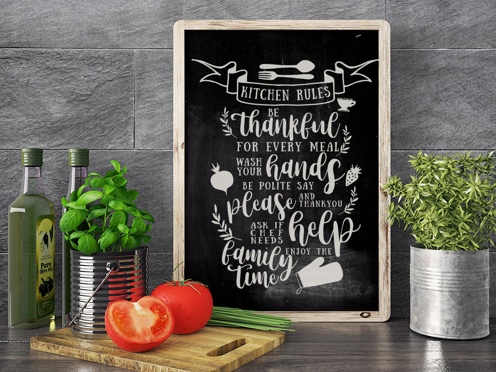 Happy Kitchen SVG Cut File Bundle example image 6