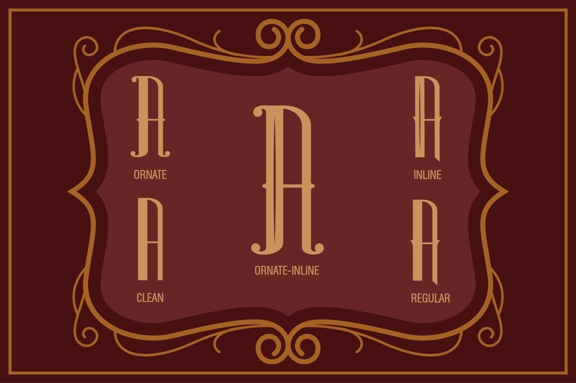 Sambeltigo Typeface example image 2