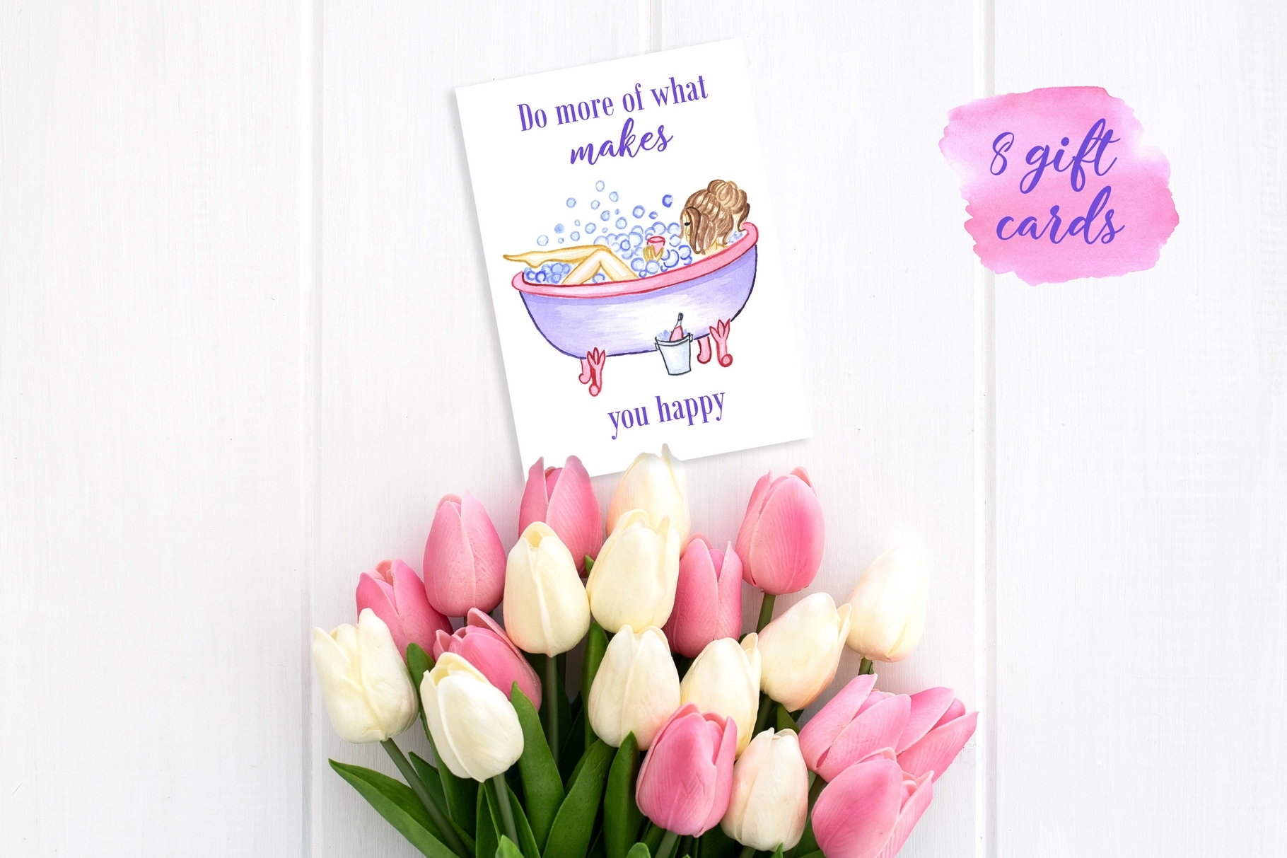 Women's day Card. 8 March example image 8