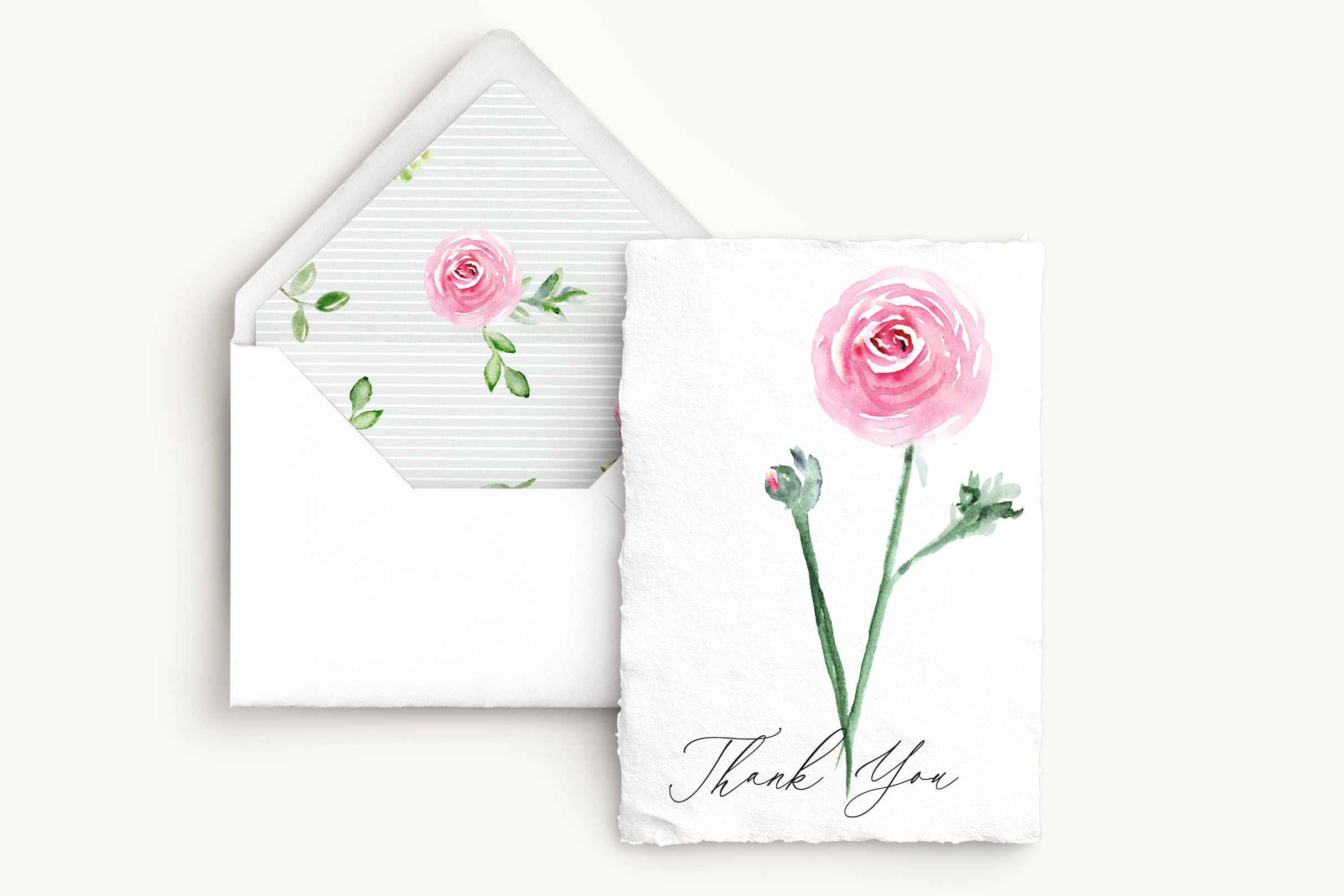 Watercolor Floral Bundle Pink, Purple Blue Flowers & Yellow example image 2