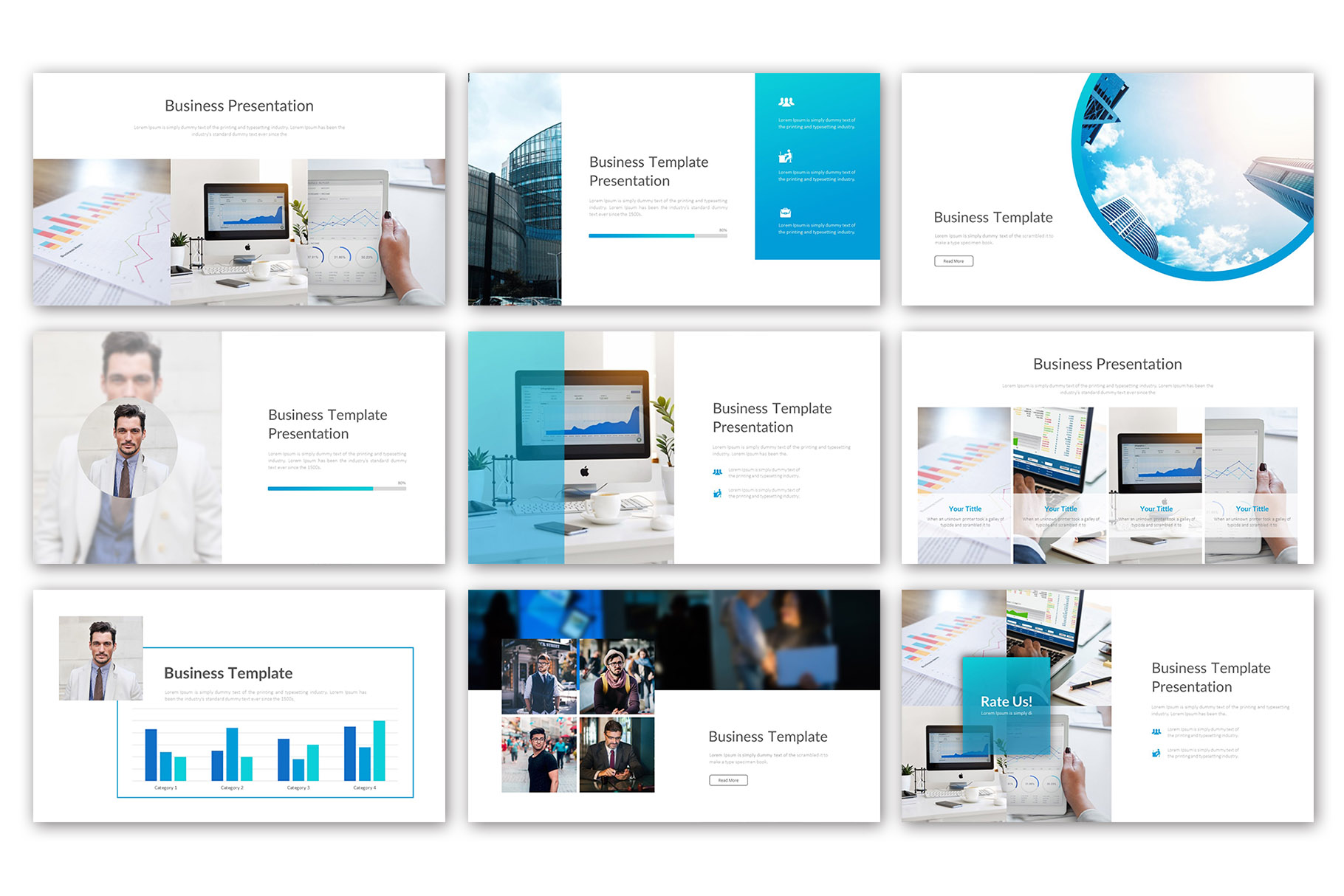 Big Business Presentation Template example image 6