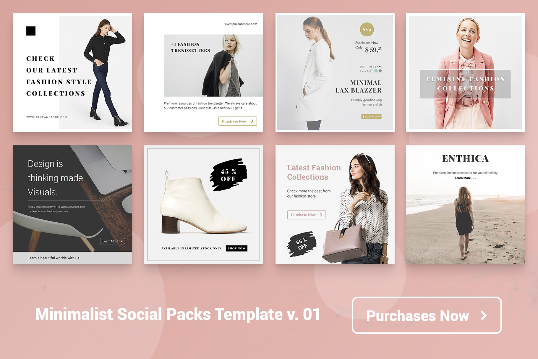 Minimal Social Packs v. 01 example image 5