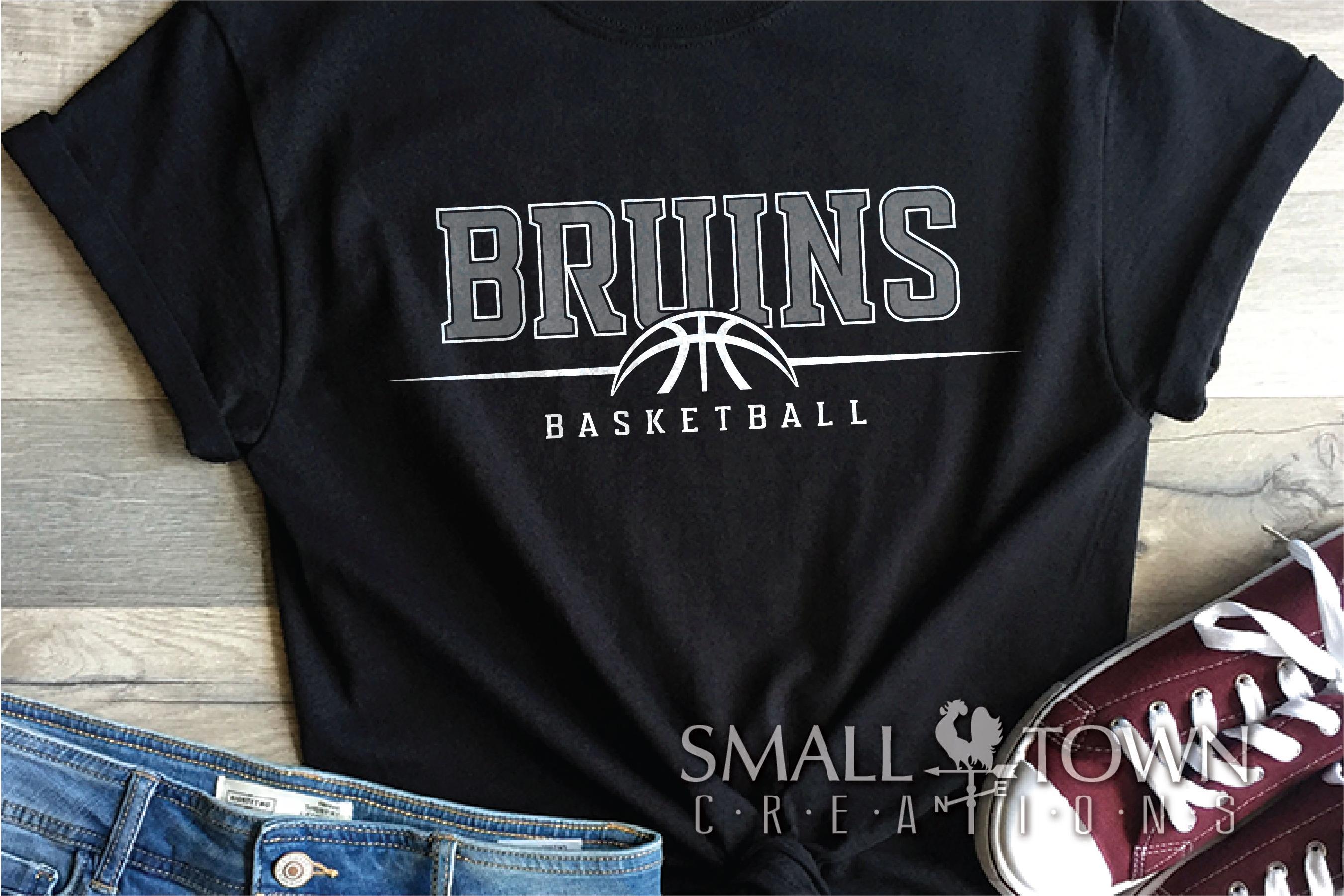 Bruin, Bruin Basketball, Bruin mascot, PRINT, CUT, DESIGN example image 1